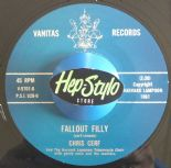 "45Re ✦ CHRIS CERF ✦ ""Fallout Filly / The Penguin"" - Crazy Dance Floor 2-sider!!!"